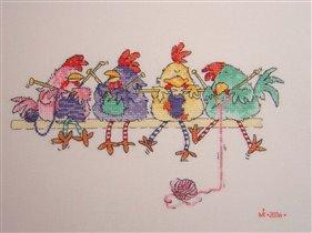 Курицы...