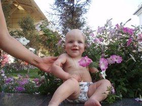Лютики цветочки у меня в садочке...