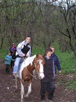 ...Как всегда - на коне!
