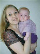 Я и моя доченька