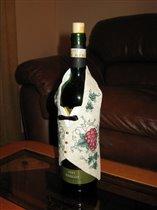 жилетка на бутылку
