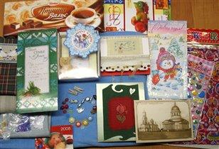 подарунчества несметные от Оли-КолокОльчиковой Улитки