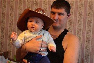 Вырасту стану ковбоем!