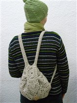 рюкзак с одной шапочкой