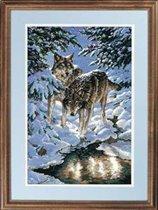 Зимние волки