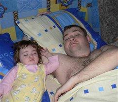 Утро первого Дня Рождения нашей дочурки Татьяны