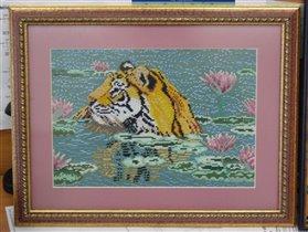 Тигр в лотосах - 2