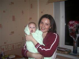 мама Женя и доча Ксюшенька