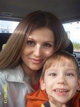 Вова с мамой