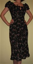 Очередное платье в мою коллекцию. Ткань как обычно вискозный жоржет. Подклад вискоза.