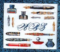 Семплер Перьевые ручки
