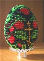 Бисерное яичко 'Малинка'