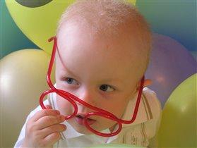 Я умный как папа!