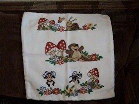 подушка для дочки