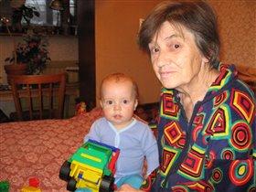 С бабушкой Галей