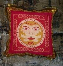 Подушка'Солнце'.