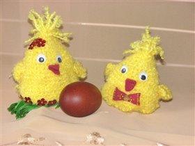 Пасхальные цыплятки.