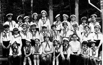 Пионерский лагерь имени Гастелло, лето 1979