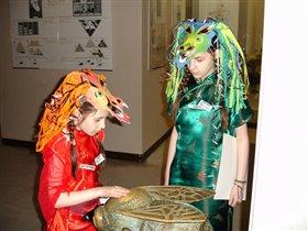 Катя и Рита - драконы
