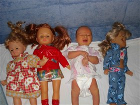 размером с куклу