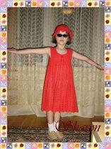 Детский сарафан и панама