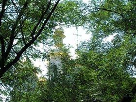 Вид на Катерининскую церьковь