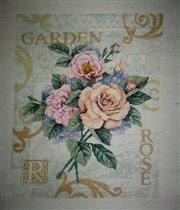 Садовые розы...