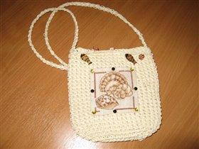 Пляжная  сумочка для моей Даши.