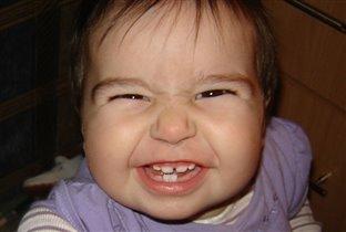 А ну покажи маме зубки....