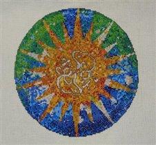 По мотивам мозаики Гауди