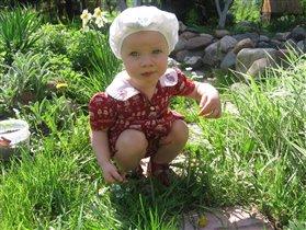 По огороду я прошла... и цветочков нарвала....