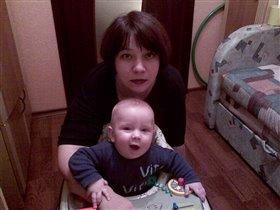 Мой сын и я.