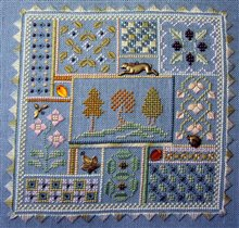 Elizabeth's Designs October Sky Sampler