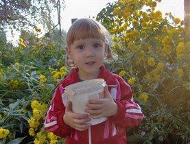 дочь Ольга 3 года