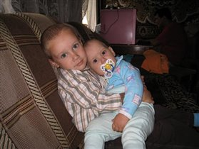Племянник Илья с сыном Святославом.