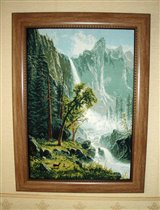 'Вид на водопад'