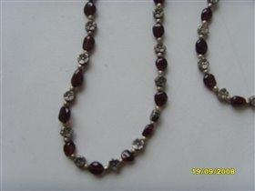 Ожерелье и браслет крупнее