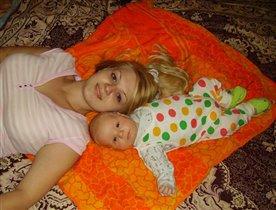 мамуля и сынуля!!!