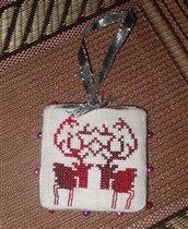 X-Moose Ornament - Meg Thompson