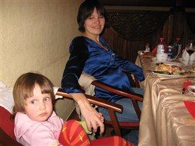 надюша и мама