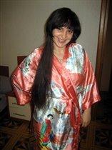 Как я вам с длинными волосами?