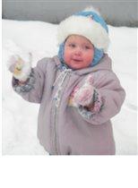 мои первые снежки