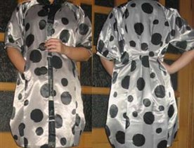 MARNI Атласный плащ-платье.Модель 2008г.