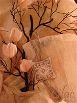 Silken Roses Fob, The Sweetheart Tree
