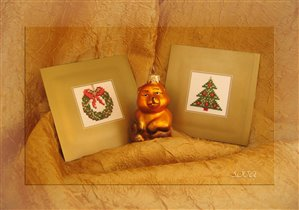 Новогодние открытки от Ланарте