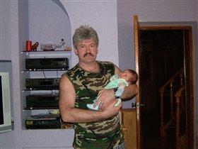 Женечка с дедом