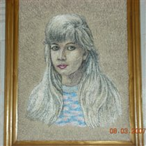 Портрет любимой дочери
