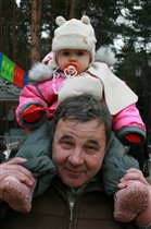 Дашута с дедом)