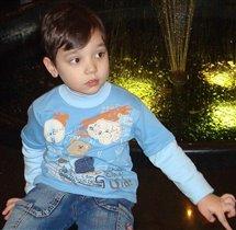 Старший сын Артемий. 3 года 10 месяцев.