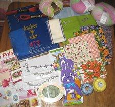 пасхальные подарчества  Хомяка забугорного  :)